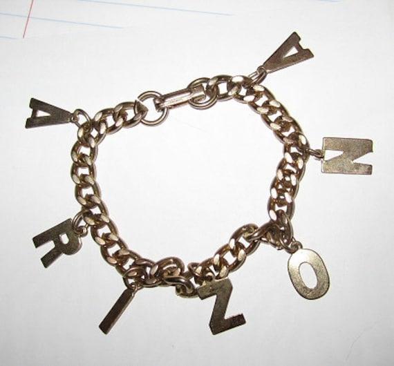 Vintage Charm Bracelet Arizona Souvenir