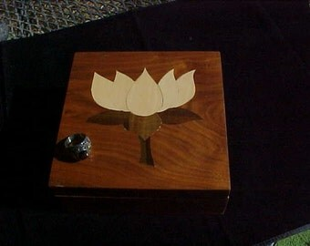 Jewelry Marquetry Inlay Keepsake Office Trinket Stash Tea Desk Accessories  Art Veneer Box ShopDrennan