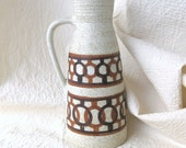 Pottery Lapid Israel Handled Pitcher