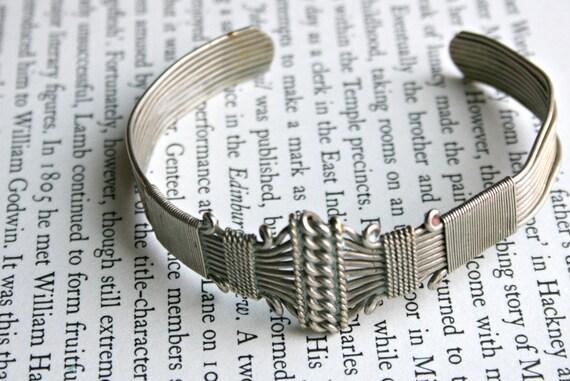 Industrial Steampunk Ornate Metal Bracelet
