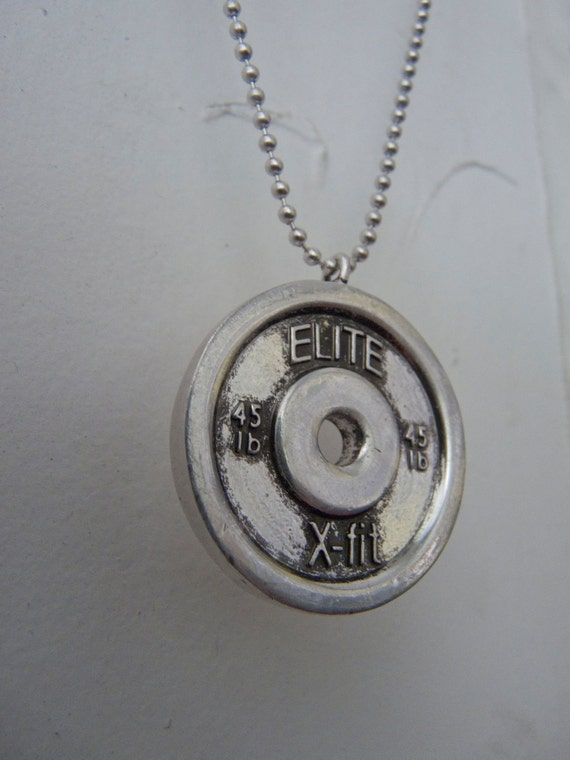 Bumper Plate Necklace