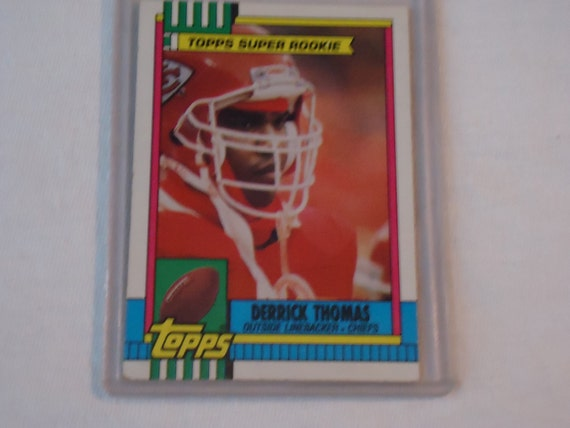 DERRICK THOMAS Rookie Card 1990 Topps