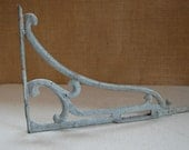 SALE  -  vintage wrought iron wall bracket architectural salvage