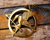 Inspired Mockingjay Pin/Necklace