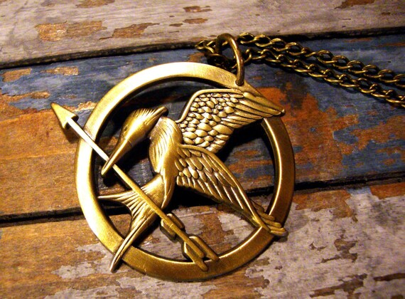 Inspired Mockingjay Necklace