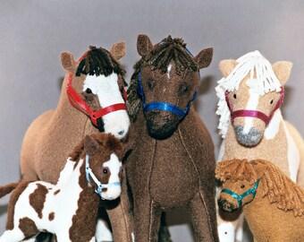 3D Horse Portraits - your horse in miniature, soft sculpture horse, a keepsake for a lifetime.