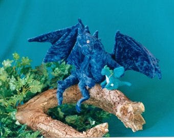 Dragons - fully posesable OOAK soft sculptor dragons