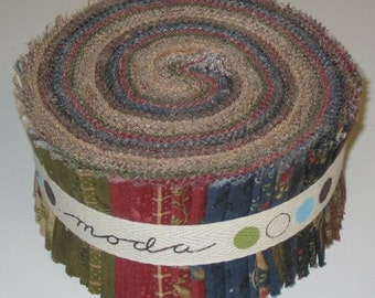 Blessings Jelly Roll by Brannock and Patek for Moda Fabrics
