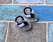Baby Flip Flops Blue / Grey