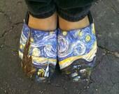 "Custom Van Gogh TOMS ""Starry Night"""