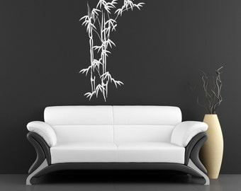 Wall Decal - Brushed Bamboo Stock - Stickers By Creepy Goat Graphics