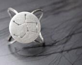 Zodiac Constellation Ring Virgo Sterling Silver