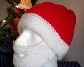 Knitted Santa Hat and Beard