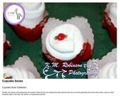 Cupcake Socks (Box of Six)