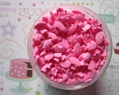 4oz Mini Pink Pig Cupcake Candy Sprinkles