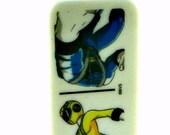 Domino Pendant Necklace Power Rangers