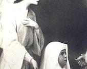 Vintage communion card. 1934