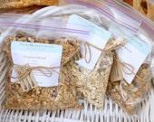 Almond and Orange Cranberry Granola - 4 x 2oz Snack Bags