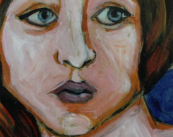 Delphic Sibyl- Original painting