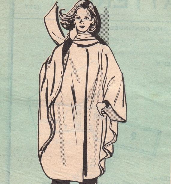 Vintage Cape Pattern Marian Martin 9097