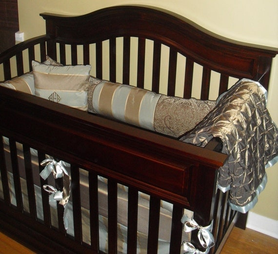 Custom Luxury Baby Boy Crib Bedding By Itsybitsybedding On