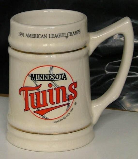 1991 Minnesota Twins American League Champs/World Series Collecitble Mug & Video
