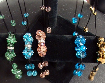 CRYSTAL NECKLACES  30 inches long