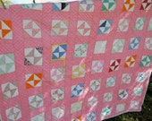Price Reduced......Vintage Patchwork  Quilt Handmade