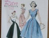 Walkaway Dress 1952 Butterick 4790 Vintage Retro  Reprint Wrap Dress Sizes 16-22