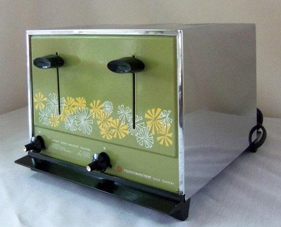 Vintage Toaster Retro Toastmaster Treasury Item
