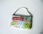 London City Map Pouch
