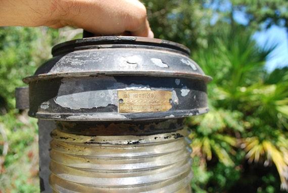 Vintage Perkins Marine PERKO Clear Lens Boat Lamp
