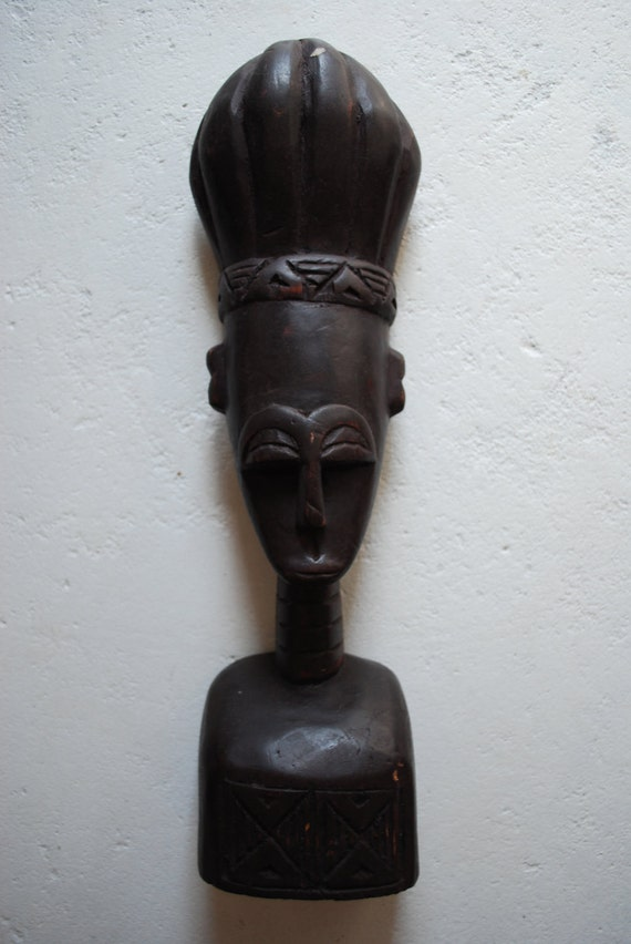 Handcarved Wooden STATUE from GHANA