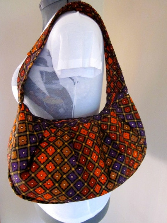 Fall Flower Bag ( FREE MINI DUFFLE With Purchase of This Bag)