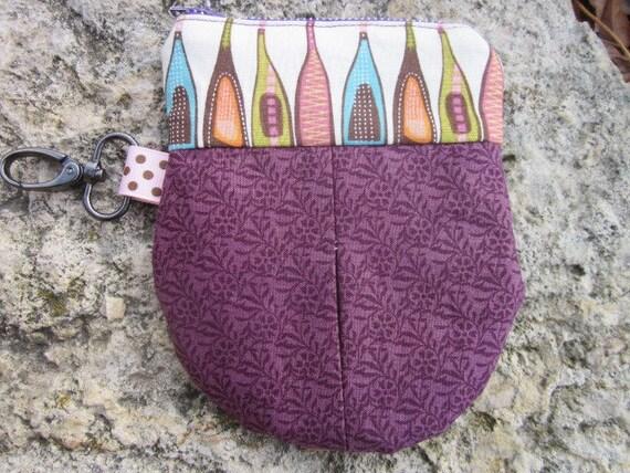 Tiny Wine Bottle Keychain Bag