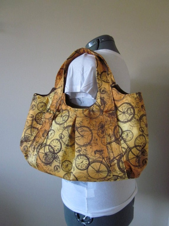 Large Purse, Messenger Bag, Tote Bag, Carry all bag, Ready To Ship,  vintage travel, steam punk