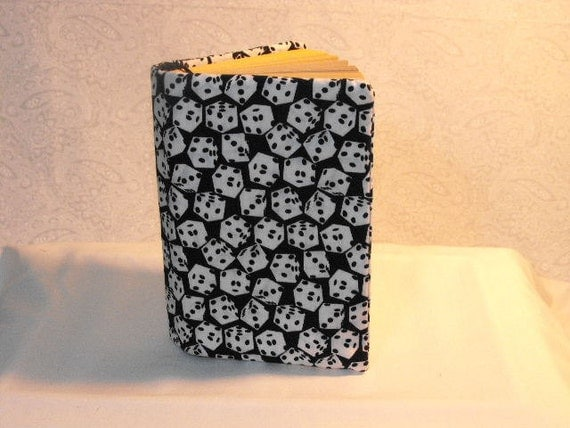 Paperback Book Cover - Black and White Dice
