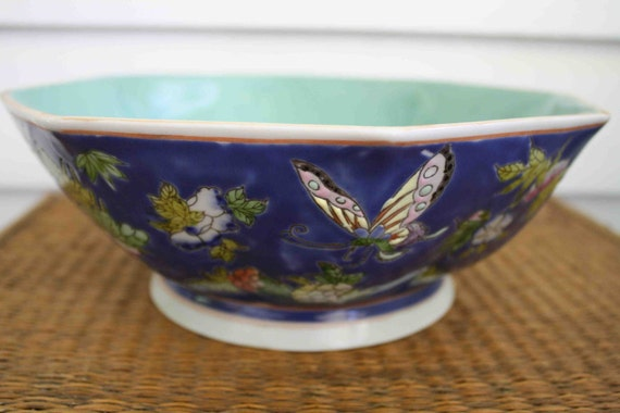 Vintage butterfly bowl from Neiman Marcus