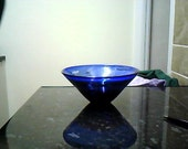 Magnor Vase In blue and Red