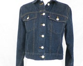 Vintage cropped denim jacket Ralph Lauren Polo