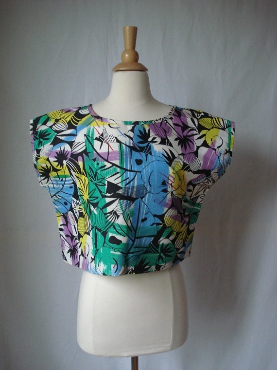 On Hold Vintage 80s tank top size large