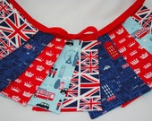 Jubilee Party Bunting - LONDON TOWN - a perfect decoration for the Queens Diamond Jubilee & 2012 Olympic celebrations - 9 flags 7ft long