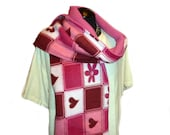 Pink warm scarf - SALE