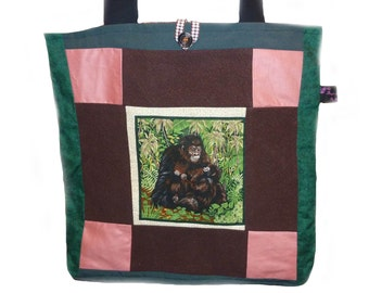 Gorilla Tote Bag, SALE