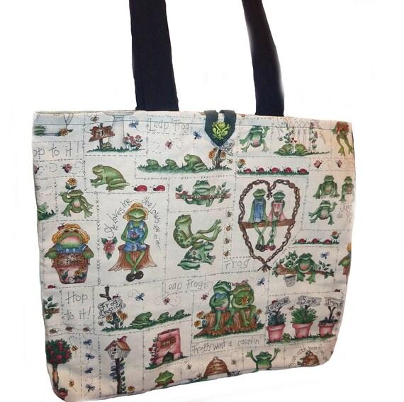 Frog Friends Shoulder Bag