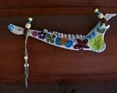 bone art. deer jawbone.