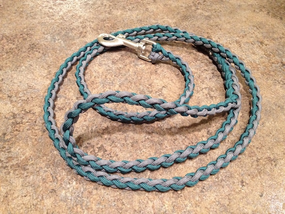 Paracord Dog Leash -- You Pick the Colors