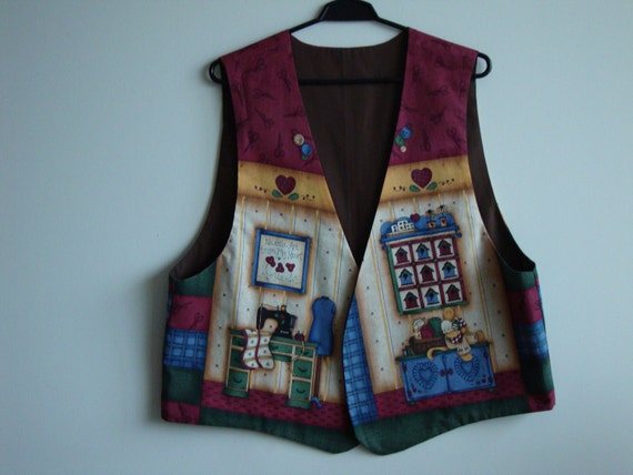 A Vest for Ladies who love sewing