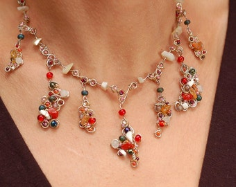 Red Majestic Necklace