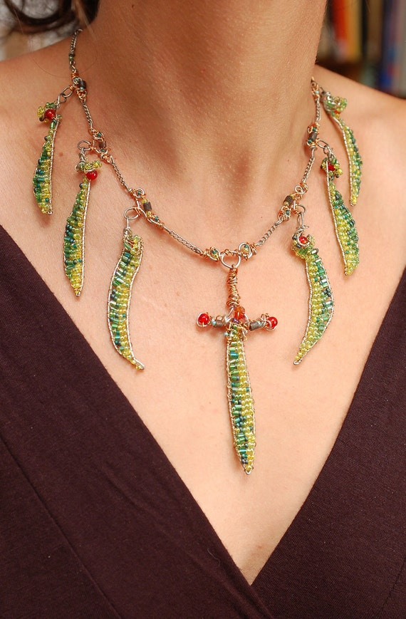 Blades of Grass Necklace